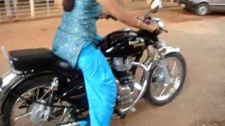Bhalki Girl Lecturer Colony Bike amzing Trial