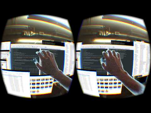 "The Future is Near! A person by the name of ""rabedik"" has made a mod by using C++, for the Oculus Rift DK2, which allows you to modify your virtual surroundings!"