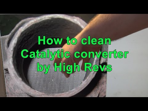 How to clean Catalytic converter by High engine Revs - YouTube