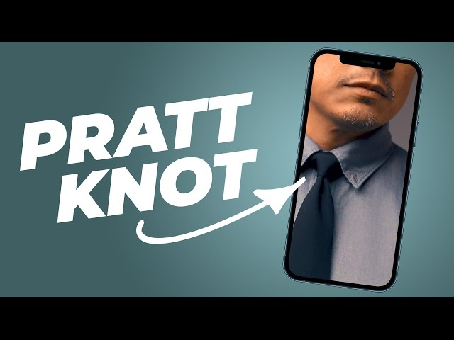 Tie A Pratt Knot (Better than a Windsor / Half Windsor!) #Shorts • Effortless Gent