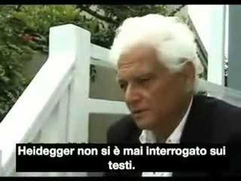 Jacques Derrida - Essere e Tempo (sub ITA)
