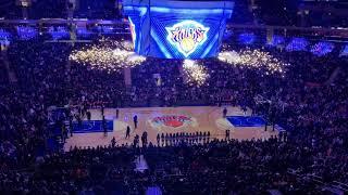 New York Knicks 2018-2019 Intro (vs. Philadelphia 76ers)