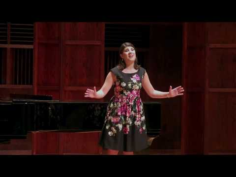 Mary Grace Corrigan, soprano  Final Round  Schmidt Youth Vocal Competition  2017