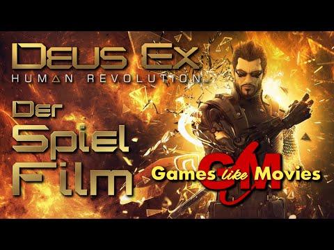 DEUS EX - HUMAN REVOLUTION - Der SPIEL-FILM [PC][deutsch][FullHD]