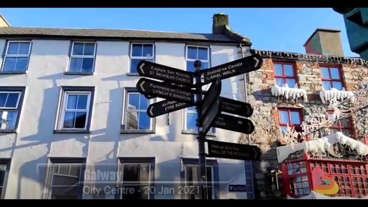 Keep a Distance: Galway. Where does it lead us?