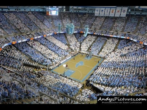 SportsTimeLapses.com: Dean Smith Center - Chapel Hill, NC