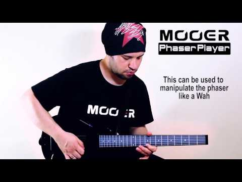 MOOER PHASER PLAYER Expression Phaser Pedal