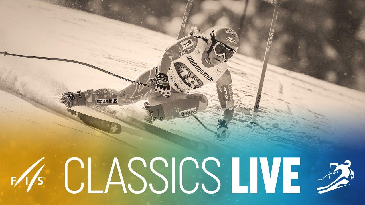 #ClassicsLive | 2012/13 | Garmisch | Women's Downhill | FIS Alpine