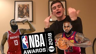 NBA AWARDS SHOW REVIEW+RANT!! HOW IS LEBRON NOT MVP