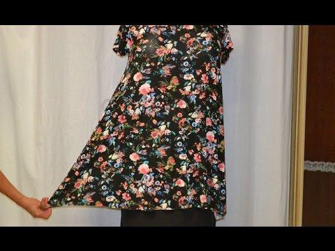 Ako ušiť - Ako zúžiť elastické šaty so strihom do A-čka  - YouTube 909501a8527
