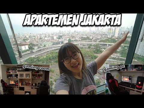 ROOM TOUR 2017 | Jakarta Apartment with Gaming Room and Gaming PC