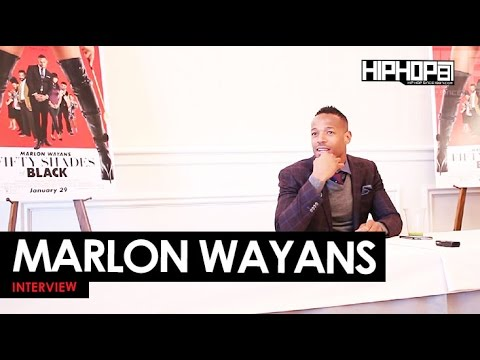 """Marlon Wayans Talks """"Fifty Shades Of Black"""", New Sitcom """"Marlon"""", & More With HHS1987"""