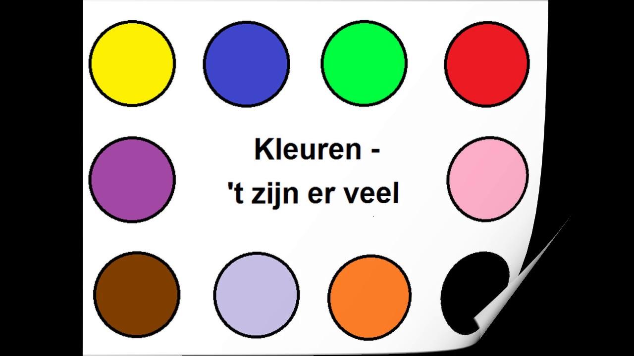 Fonkelnieuw Kleurenliedje voor peuters en kleuters by Juf Anne helpt! FS-54