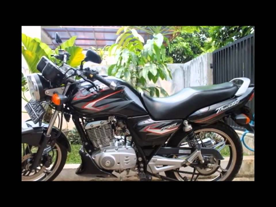 New Video Modifikasi Motor Suzuki Thunder 125 Cc