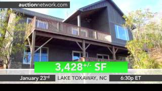 Lake Toxaway, NC Home Auction - 686 Lakeside Dr