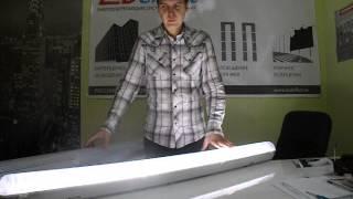 Светодиодный Светильник (Кристалл) для производственно-складских помещений(, 2013-09-17T19:23:13.000Z)