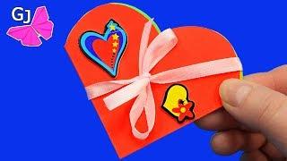 Блокнотик Сердечко на День Валентина своими руками