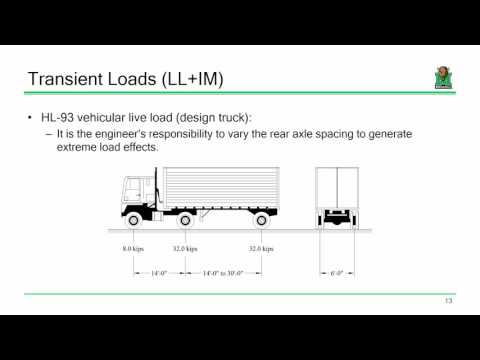 CE 618 Lecture 04a:  Analysis for Live Loads (2016.09.13)