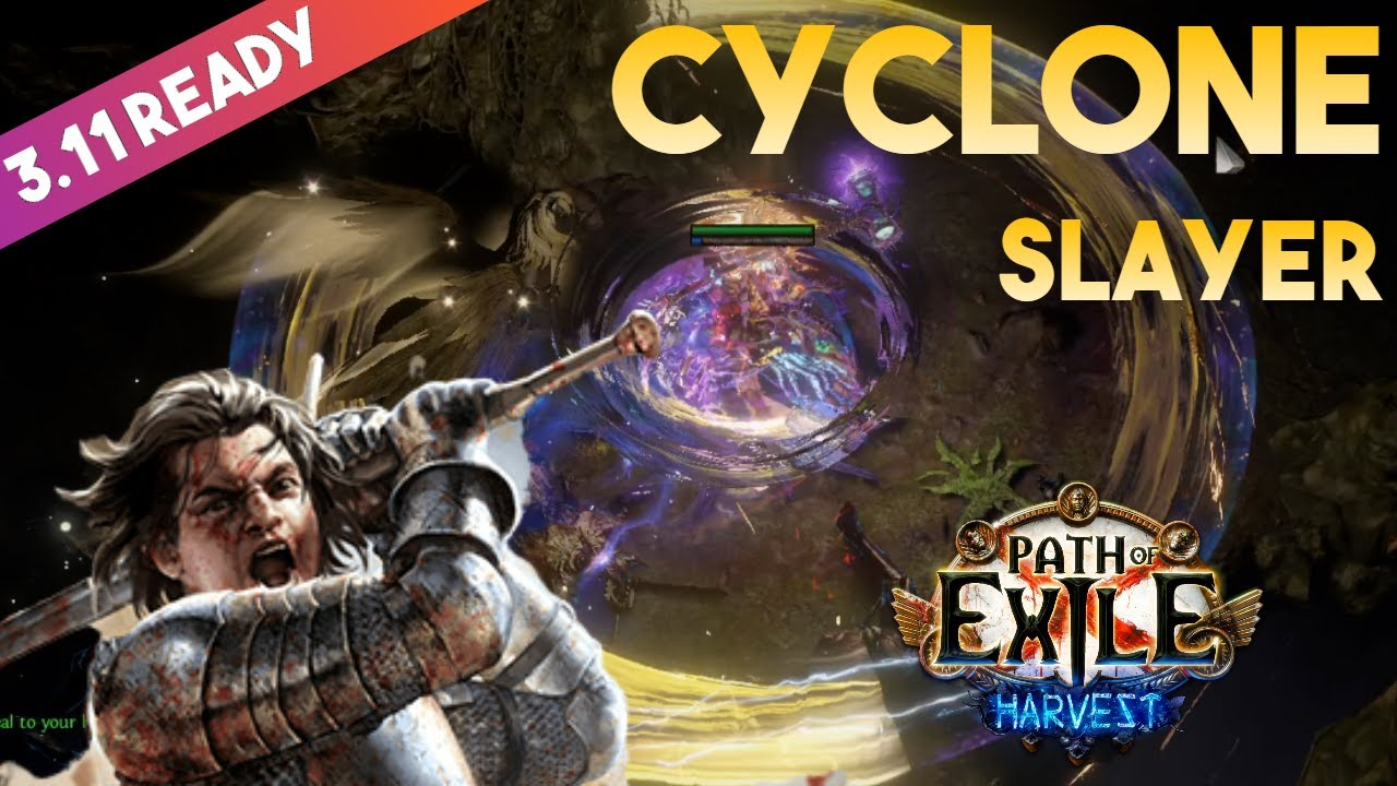 3 12 Cyclone Build Slayer Duelist Heist Path Of Exile 3 12 Youtube