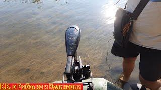 На сколько по времени хватает ЭЛЕКТРОМОТОРА для лодки на рыбалке.Самый популярный вопрос от А до Я.