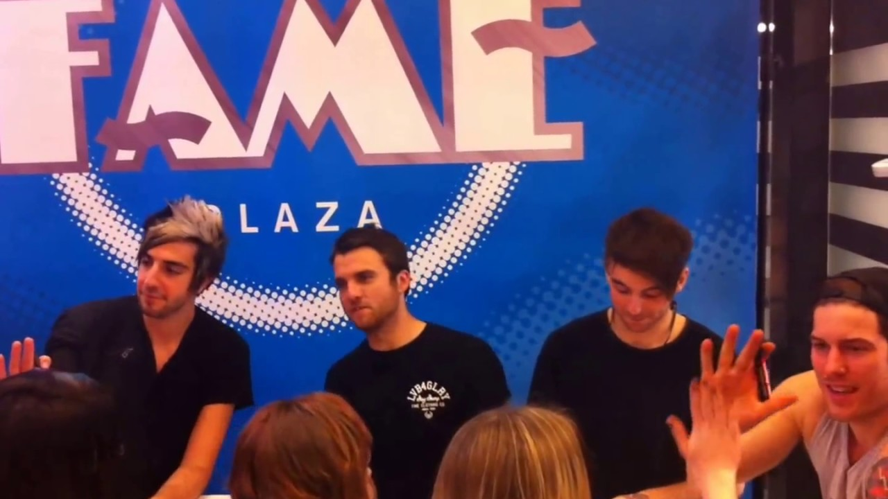 All Time Low Meet And Greet Fame Megastore Youtube