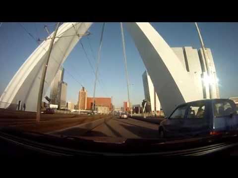 Urban Drive: Rotterdam City Tour! Erasmusbrug & Noordereiland