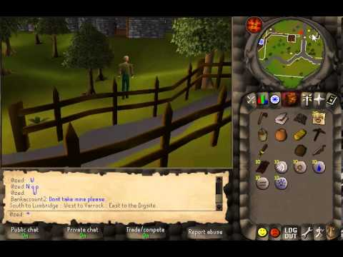 *2006 RUNESCAPE GAMEPLAY (with COMMENTARY)*