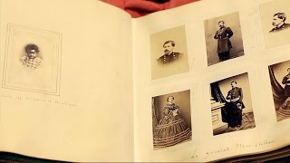 Inside look at rare Civil War-era photo album
