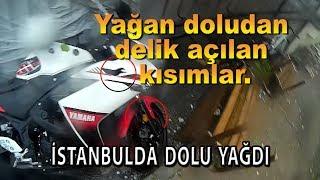 YAĞAN DOLU R25'İN GRENAJINI DELDİ   İSTANBUL'DA KASIRGA 27.07.17   Vlog