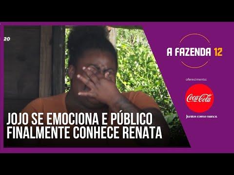 Jojo se emociona e público finalmente conhece Renata   A Fazenda 12