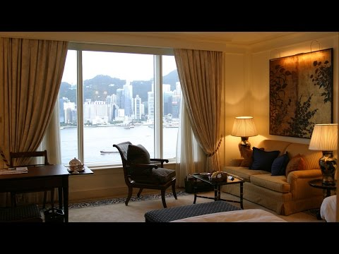 The Peninsula Hong Kong - Grand Deluxe Harbour View Room Tour