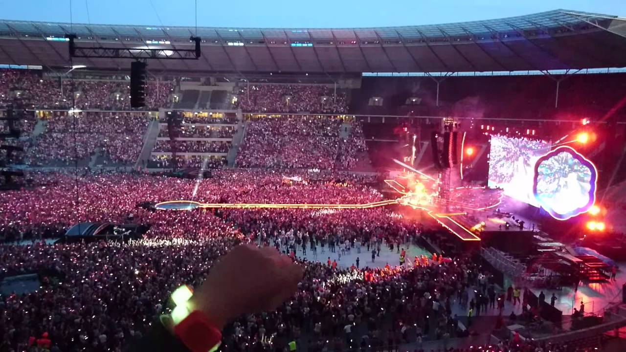 Coldplay Berlin