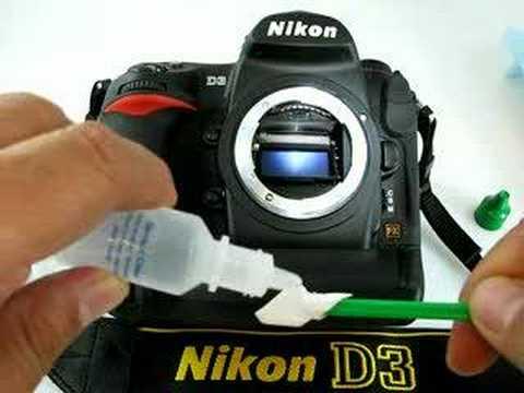 DSLR camera focusing screen cleaning using Focusing Screen Swab and Sensor Clean solution