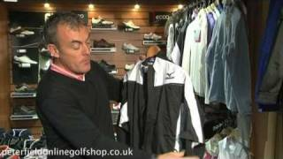 Mizuno Impermalite Jacket and Trousers - Peter Field Golf