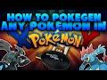 How to PokeGen in Pokémon X and Y w/PokeBank & White/Black/Black2/White2 (Tutorial)