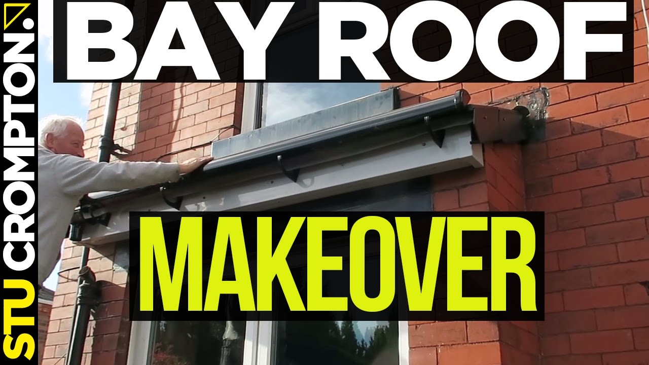 Re Tiling Bay Roof Makeover Roofing Tutorial Youtube