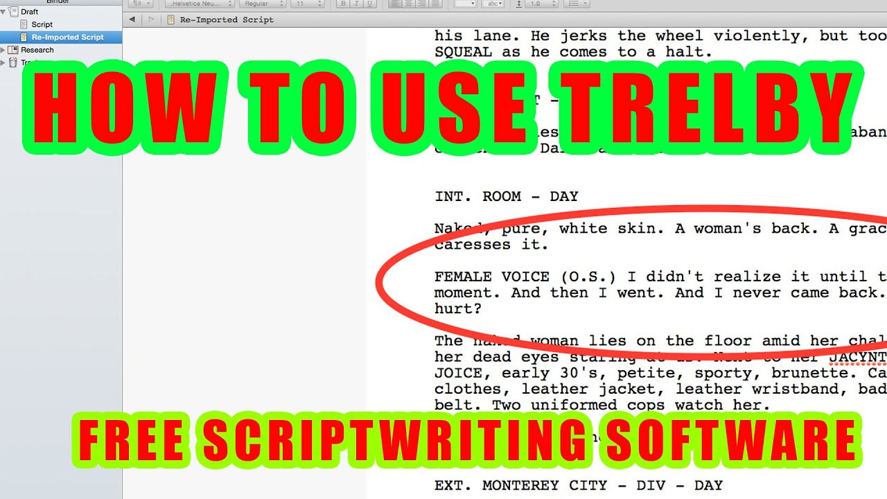 Need a Final Draft Alternative for Linux? Try These