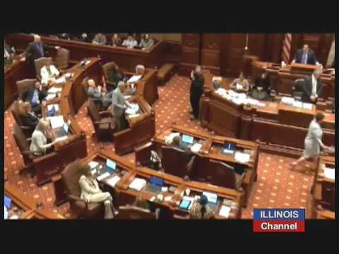 Illinois Senate Debate on SB-9, to Raise $5.4 Billion in New Revenue