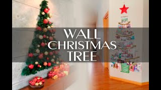 Ideas. How To Make A Christmas Tree On The Wall