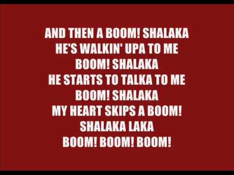 Anjulie - Boom (lyrics)