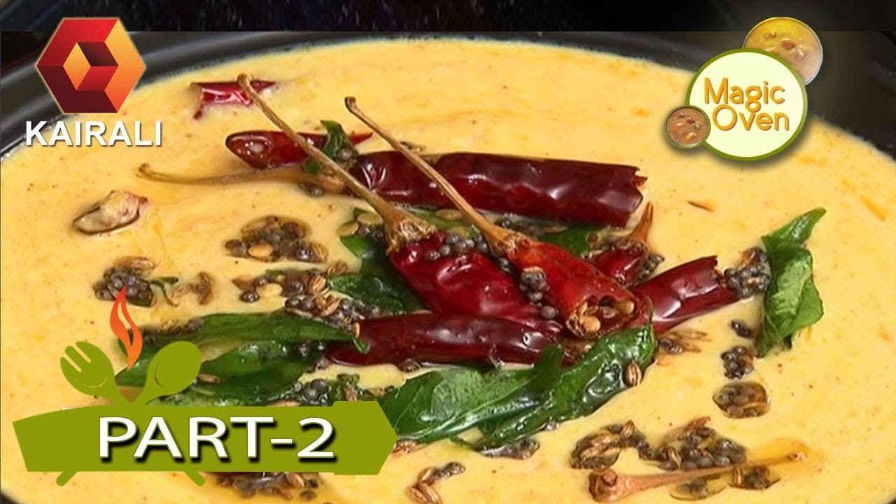 Magic Oven : Pumpkin Pachadi Recipe In Malayalam | 24th September 2017 | Part 2
