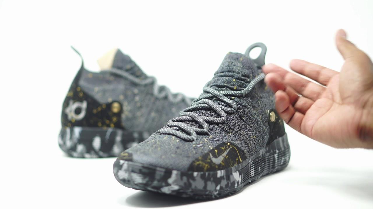 8e41450b0b1 FIRST LOOK  Nike Zoom KD 11  Gold Splatter