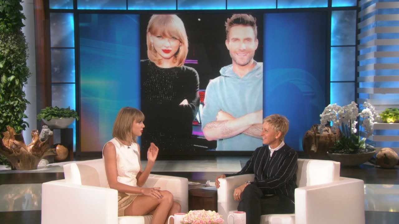 Taylor Swift Knows Adam Levine S Weakness Youtube