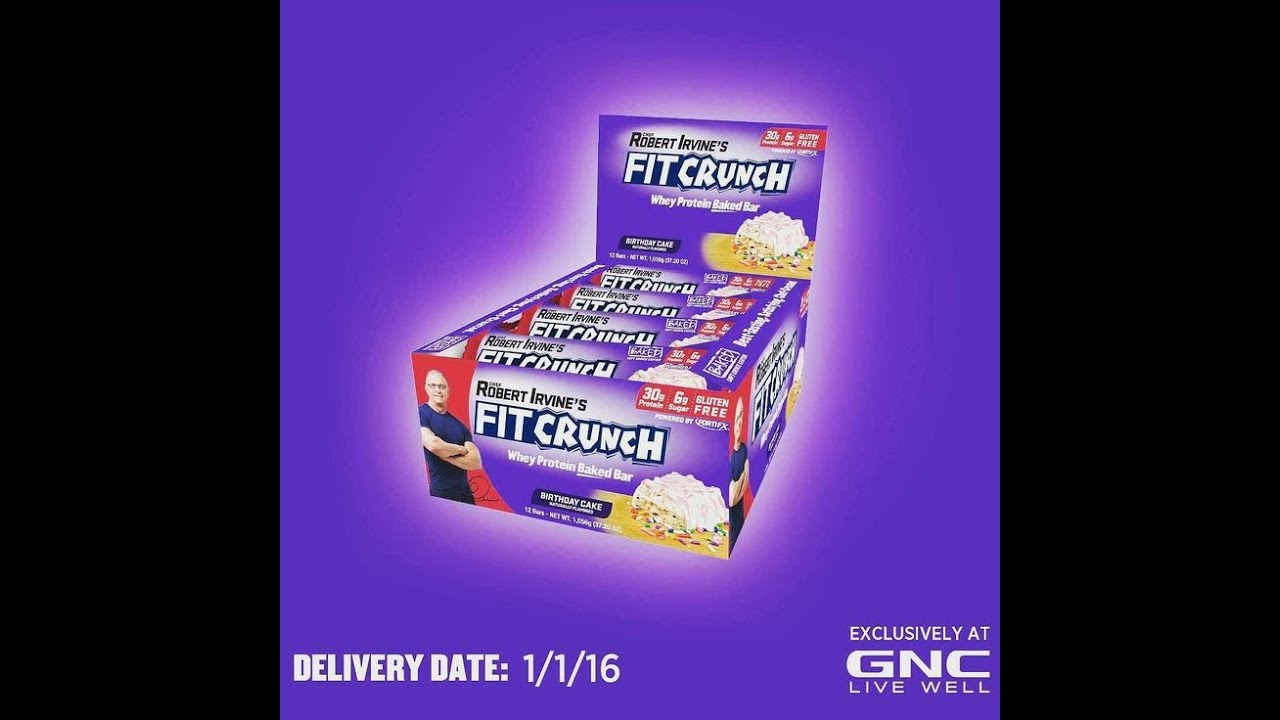 Fit Crunch Bar Review