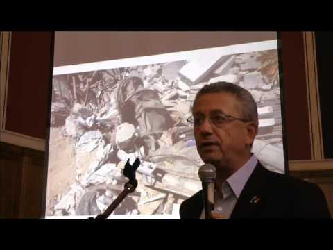 Gaza - eyewitness to horror, Dr Mustafa Barghouti