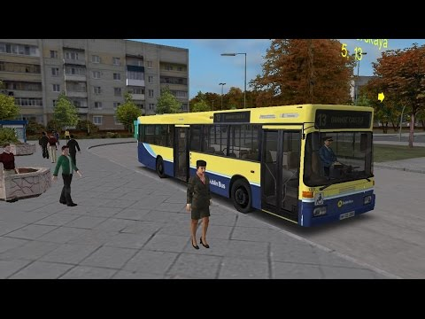 Omsi 1 Map:Omninsk Route 13 Hamburg Citybus