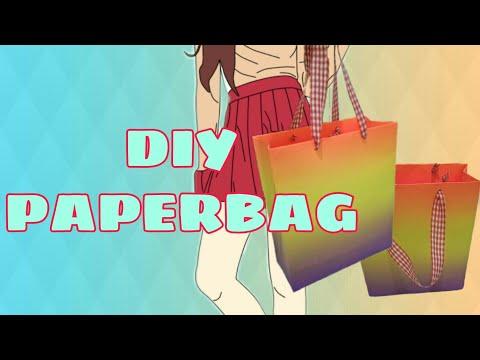 Easy diy paperbag | cara mudah membuat #paperbag