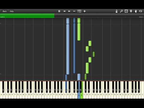 Zelda Wind Waker - Medli's Prayer (Synthesia)
