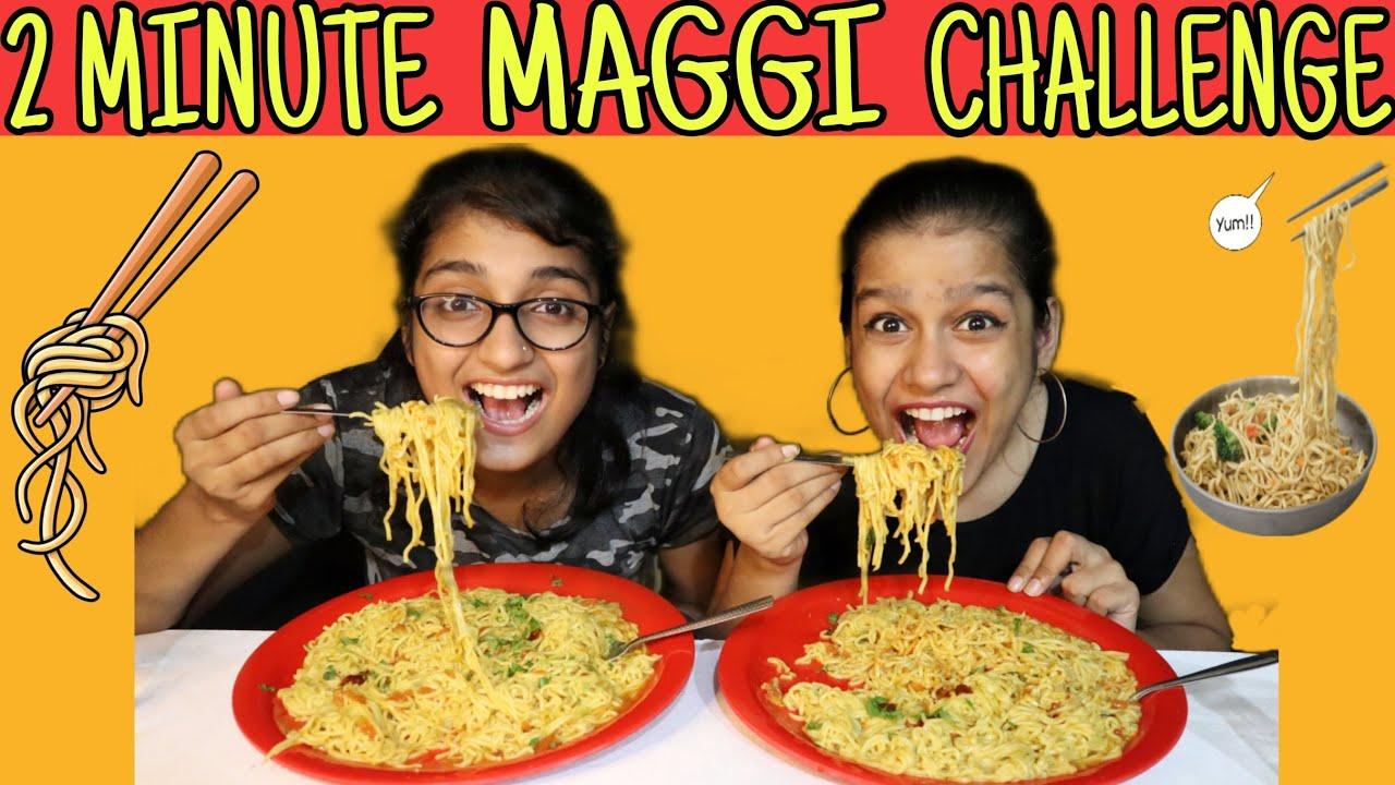 INSTANT MAGGI CHALLENGE   MAGGI EATING CHALLENGE   MAGGI CHALLENGE