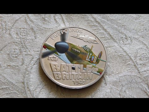 Guernsey 'Battle of Britain' £5 Coin!